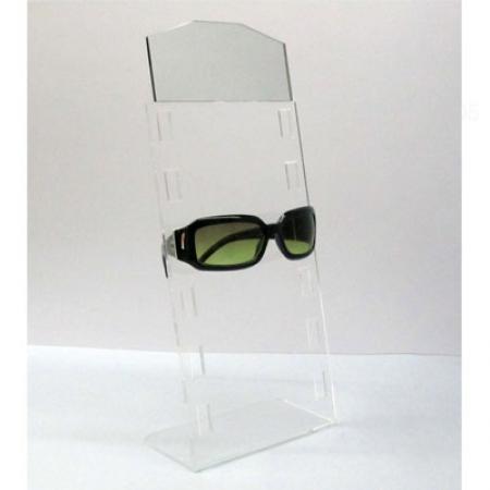 Expositor gafas 6 unidades doblado con espejo