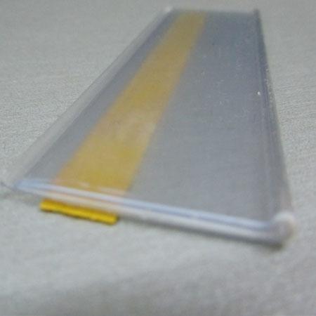 porta precios adhesivo para estante