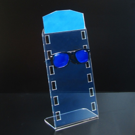 expositor para gafas con espejo