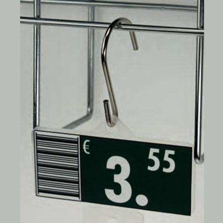 Gancho,18 unid. cartelería 45 mm