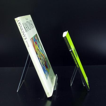 soportes para libros verticales