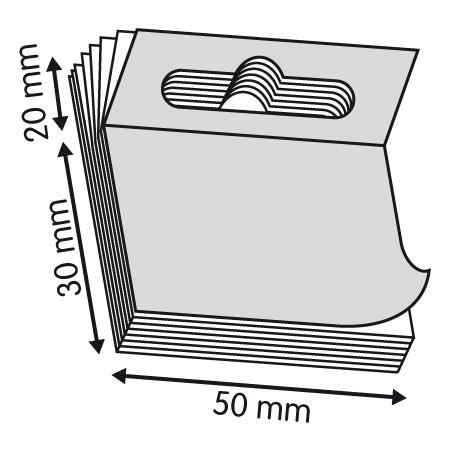 emblistador adhesivo