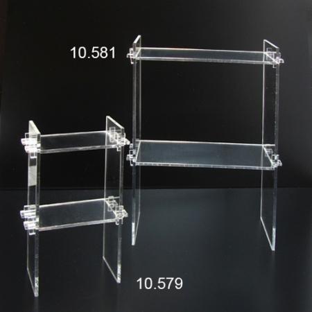 metacrilato transparente estanteria metacrilato pequeña