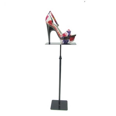 soporte calzado metálico bandeja recta