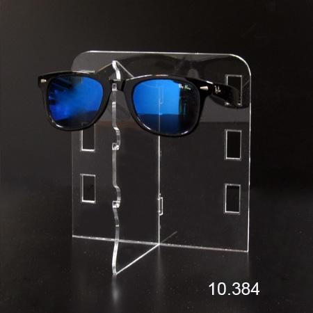 expositor para tres gafas metacrilato