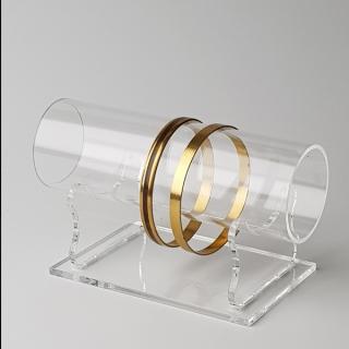 Expositor pulseras tubo 25 cm largo, metacrilato