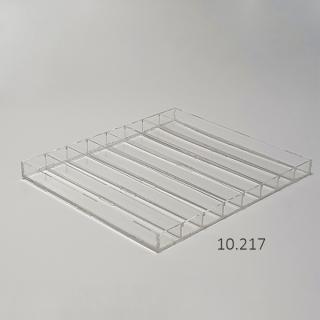 Caja sin tapa 8 filas 2,5x1,5 cm