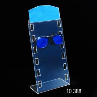 Expositor gafas 6 unidades con espejo