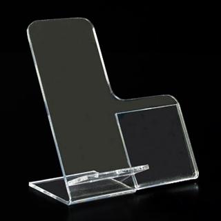 Soporte para móvil con cartel lateral