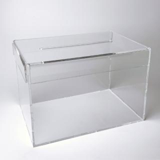 Urna sobremesa 30X20X20 cm, tipo caja de zapatos