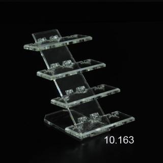 Expositor 12 anillos sobre base en 4 alturas