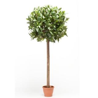 Árbol Laurel Esfera, artificial de 95 cm, para interior