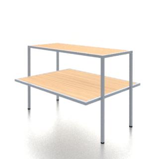 Mesa exposición 120x50/90x80 cm