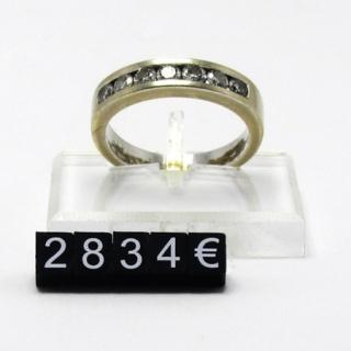 Marcadores de precios 5 mm, fondo negro- nº blanco,estuche