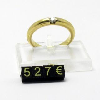 Marcadores de precios 5 mm, fondo negro- nº oro, estuche