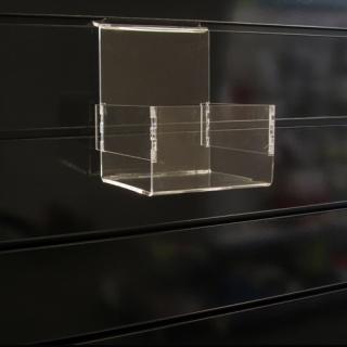 Caja abierta a lama de 14x12,5x16 cm, metacrilato