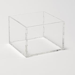 Caja transparente 15x15x15 cm