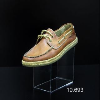 """Soporte metacrilato calzado en """"U"""" coja"""