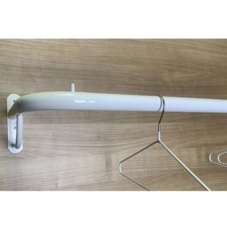 Barra colgadora directa a pared 90 cm