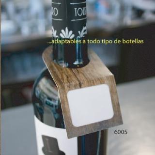 Etiqueta para botellas de bebidas, 200 unid.