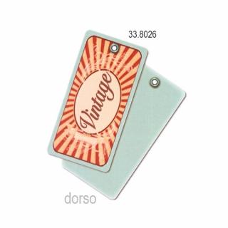 "Etiqueta rectangular para  colgar ""Vintage"", 200 unidades"