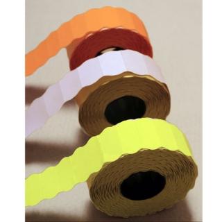 5 ROLLOS Etiquetas autoadhesivas blanca 26x12, 5 rollos de 1500 etiquetas-rollo