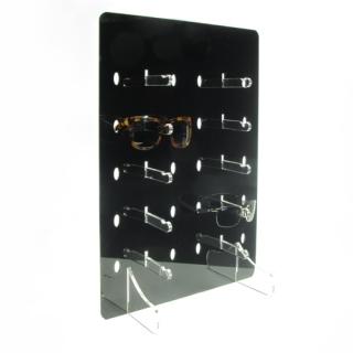 Expositor 10 gafas metacrilato negro