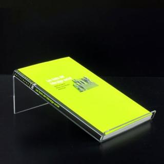 Soporte libros horizontal, Metacrilato