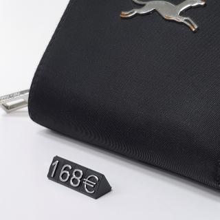 Calzado, regalo, Marcadores de precios  9,5 mm, negro, nº plata