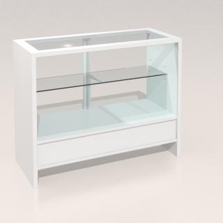 Mostrador vitrina mediana Compacto 1200