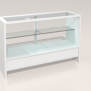 Mostrador vitrina mediana Compacto 1500