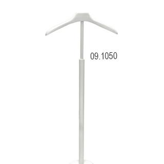 Percha de pie. Altura 90 a 110 cm. Ancho percha 40 cm