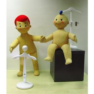 ejemplo perchas y maniquíes de niño