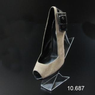 Soporte calzado con picos grande