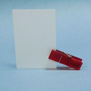 Pinza roja reflectante Pack 5 unidades
