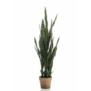 Planta Sanseveria,  artificial altura100 cm, para interior