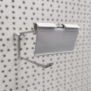 10 unid.Porta etiquetas para gancho 5,2x2,9 cm