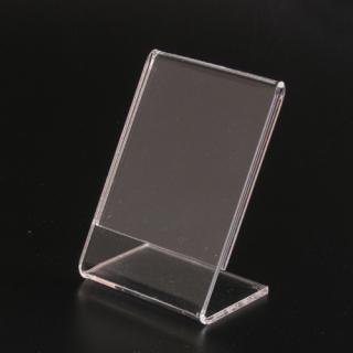 Porta etiquetas  vertical 5X7,5 cm metacrilato