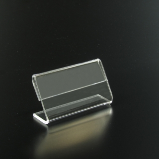 Porta precios horizontal 6,5X3 cm metacrilato