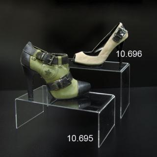 Repisa metacrilato calzado grande