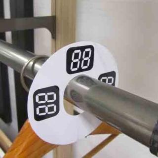 Separador de tallas circular, digital, 10 unidades