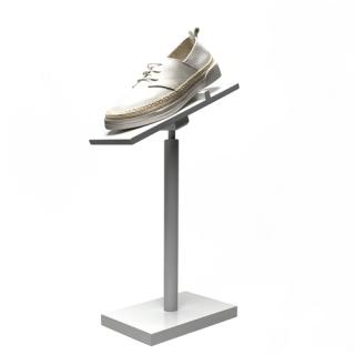 Expositor calzado madera lacada