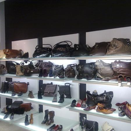 Mobiliario para tiendas de calzado