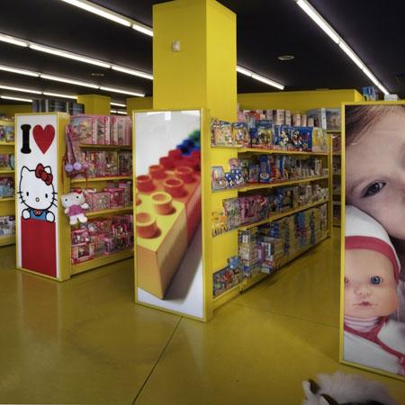 Mobiliario tienda de juguetes - Estanterias para guardar juguetes ...