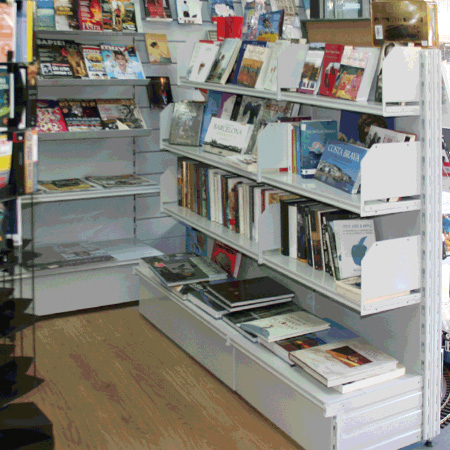 Mobiliario especializado librerias y papelerias for Muebles para papeleria